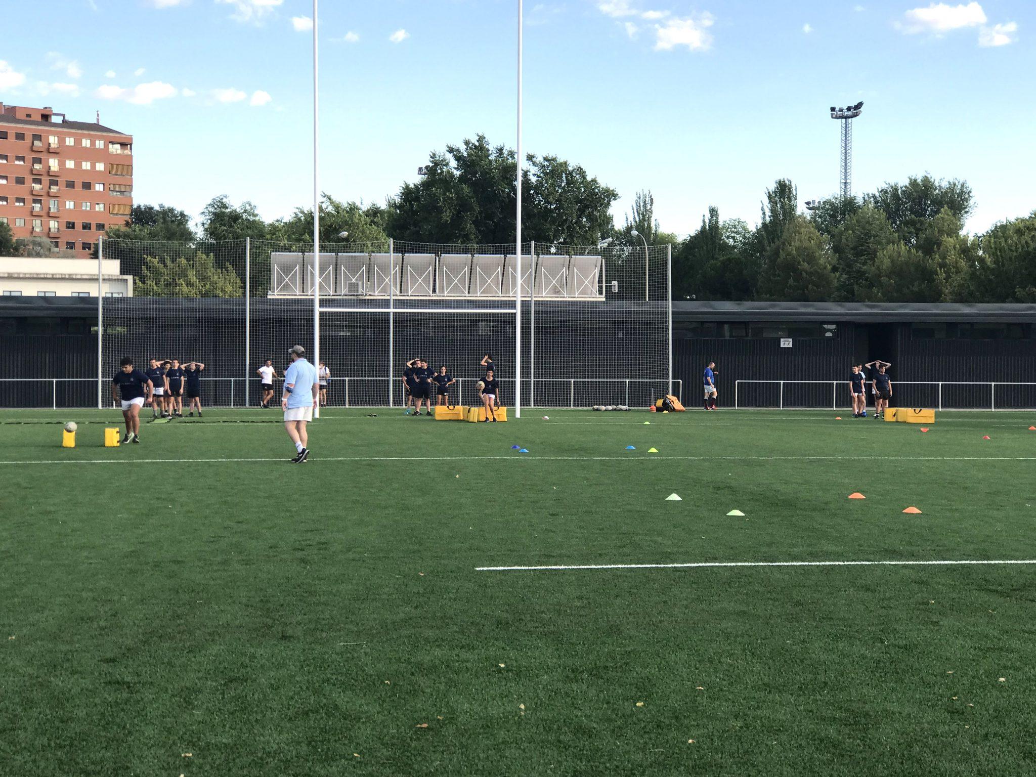 Entrenamiento Academia San Isidro Rugby Club, Campo de Rugby Tres Olivos